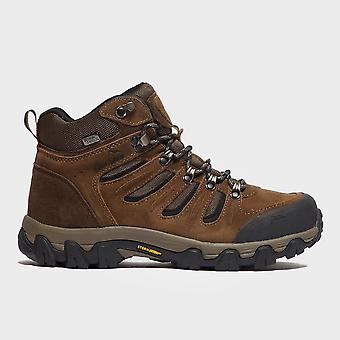 New Peter Storm Men's Eskdale Mid Waterproof Walking Boots Brown