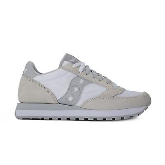 Saucony jazz white sneakers moda