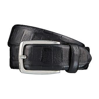 Ceintures cuir ceinture noir DANIEL HECHTER ceintures homme 3858