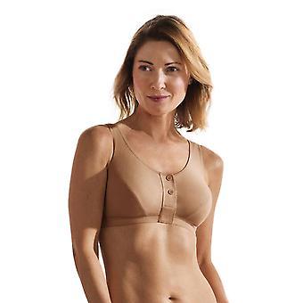 Anita 5315x-753 femei ' s care desert bej fata deschiderea mastectomie post operative Bra
