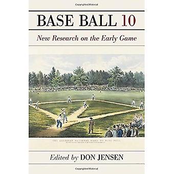 Base-Ball: Een dagboek van het vroege spel, Volume 10