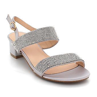 Aarz London Louisa- Sparkly Rhinestones Sandals