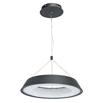 Glasberg - LED Pendant Adjustable Small In Matt Black And White 703010701