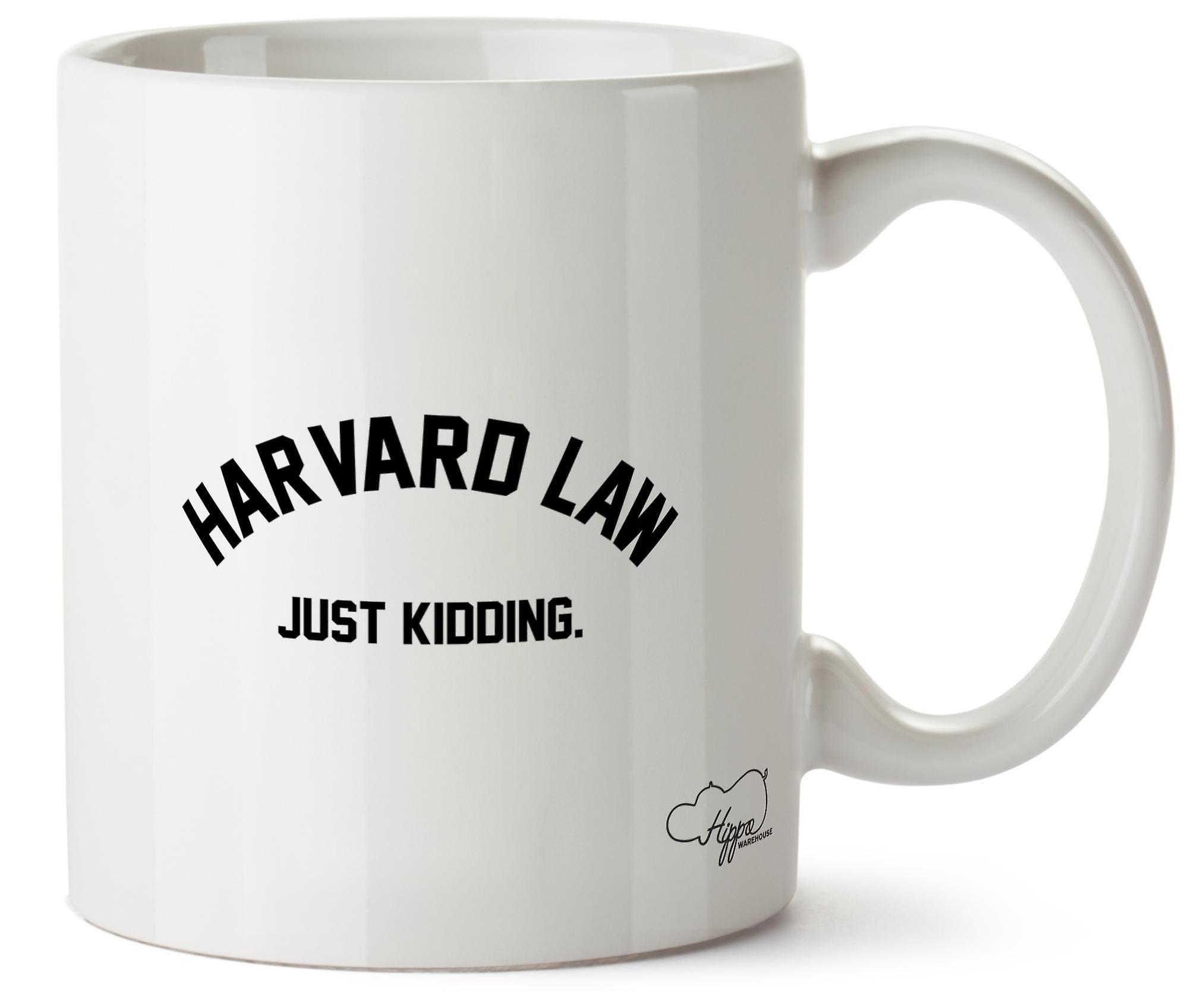 Hippowarehouse Гарвардский Закон просто шучу напечатаны Кубка керамическая кружка 10oz