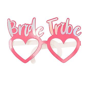 Bride Tribe Fun Glasses x 8 - Hen Party