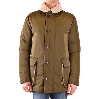 Peuterey Ezbc017111 Men's Green Nylon Outerwear Jacket