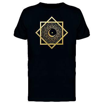 Islamique symbole Crescent Moon Tee homme-Image de Shutterstock