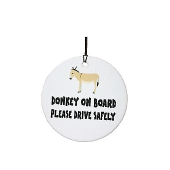 Donkey On Board Car Air Freshener