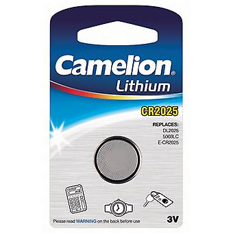 Camelion Battery CR2025 Lithium 3V Button Cell