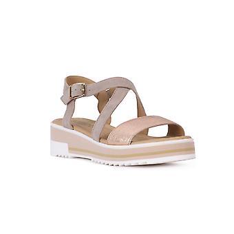 Igi & Co taupe goat Sandals