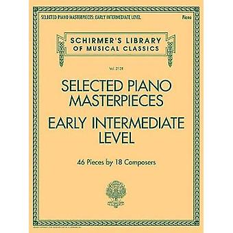 Selected Piano Masterpieces Early Intermediate Level Piano Book - 978