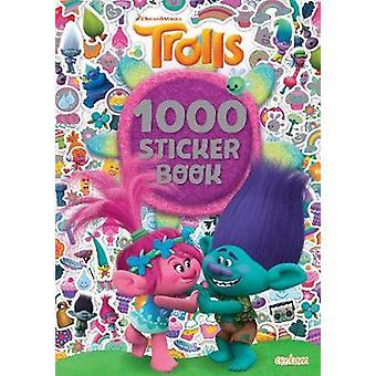 Trolls - 1000 Sticker Book by Centum Books Ltd - 9781911461883 Book