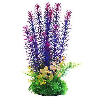 Betta Choice Purple & Pink Combi Plastic Plant 30cm