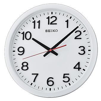Seiko Wall Clock with Arabic Numerals - Matt White (QXA732W)