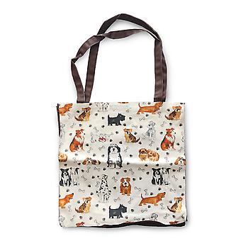 Roy Kirkham Cotton Shopping Bag, Dogs