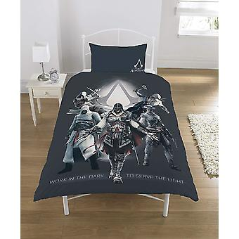 Assassins Creed Duvet Set Polycotton Multi-Color