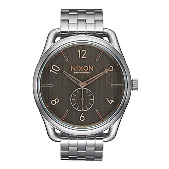 Nixon C45 SS Grau Rose Gold Herrenuhr (A9512064)