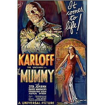 Poster - Studio B - The Mummy - Movie Poster Wall Art P3188