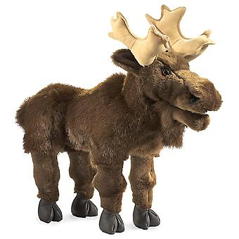 Hand Puppet - Folkmanis - Moose New Animals Soft Doll Plush Toys 2205