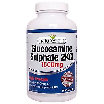 Nature's Aid Glucosamine Sulphate 1500mg (High Strength) Tablets 180 (124052)