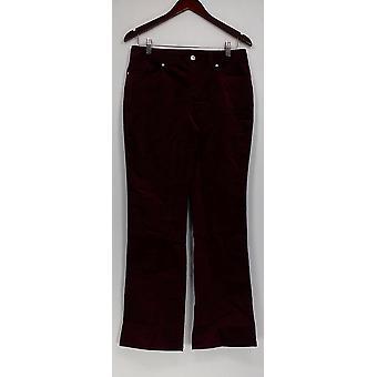 Femmes avec Control Women-apos;s Pantalon Corduroy Boot Cut Purple A228611