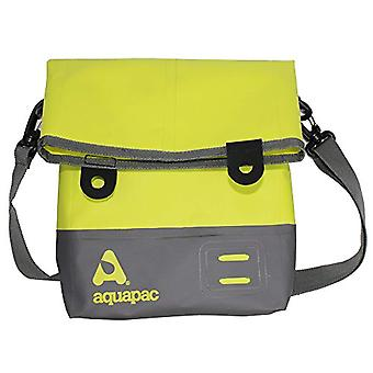 AQUAPAC Waterproof Tote Bag Strap - Unisex - Wasserdichte Umh?ngetasche Tote Bag - Acid Green/Grau - S