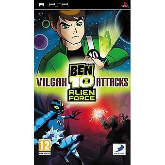 Ben 10 Alien Force Vilgax Attacks (PSP) - Nouveau