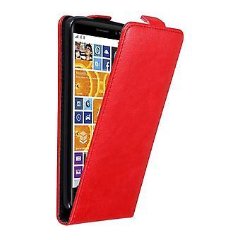 Cadorabo Hülle für نوكيا Lumia 830 غطاء القضية - Handyhülle im Flip Design mit Magnetverschluss - غطاء الحالة Schutzhülle Etui Tasche Book Klapp Style