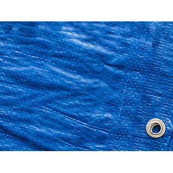 Tarpaulin 10x15 m, PE 250 g/m², Blue