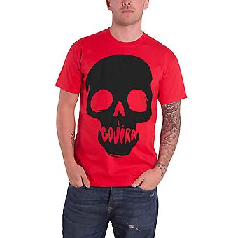 Gorija T Shirt Skull Mouth Band Logo Magma new Official Metal Mens Red