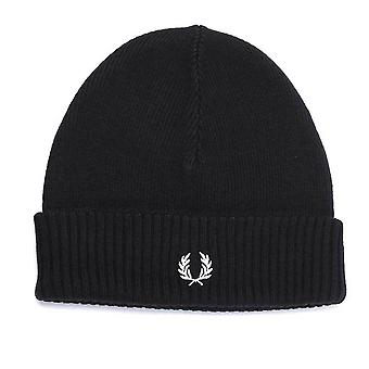 Fred Perry Roll Up Beanie Hat   C7142