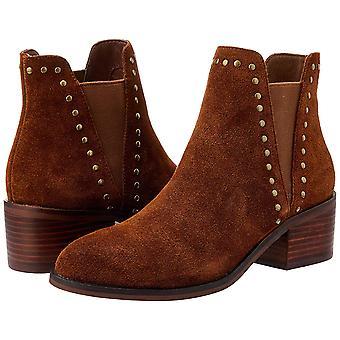 ستيف مادن أحذية تشلسي الكاحل إصبع اللوز جلدية كيد المرأة