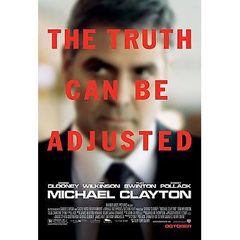 Michael Clayton (Double Sided Regular) (2007) Original Cinema Poster