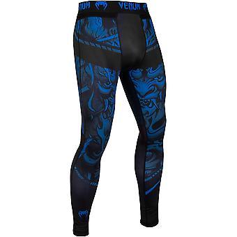 Venum Devil Compression spats-marineblauw/zwart