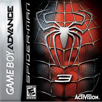Spider-Man 3 GBA Game (GameBoy Advance)