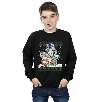 Star Wars pojat Skywalker rullaava nousu tämä joulu paita