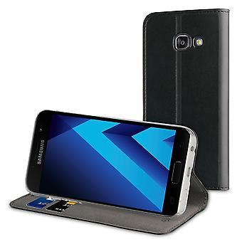 Case For Samsung Galaxy A5 (2017) Black Wallet