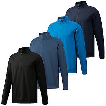 Adidas Golf Herre Classic Club 1/2 zip Soft stretch UPF 50 + pullover
