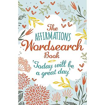 Affirmations Wordsearch Book by Eric Saunders