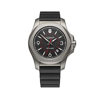 Victorinox Swiss Army I.N.O.X Titanium With Protective Bumper Quartz Men-apos;s Watch 241883