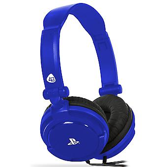 4Gamers PRO4-10 - Gaming Headset - Blau - PS4