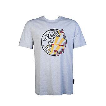 Versace T skjorte Grafisk Print V800683r Vj00626