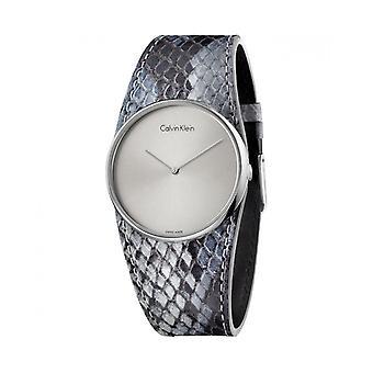 Calvin klein frauen's Uhr, grau 1q4