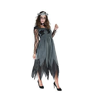 Zombie bride women's costume