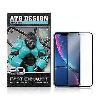 ATB Design 9D Full Glue Screen Protector Tempered Glass iPhone 11 - Xr