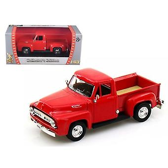 1953 Ford F-100 Pickup Red 1/43 Diecast Car Model by Road Signature