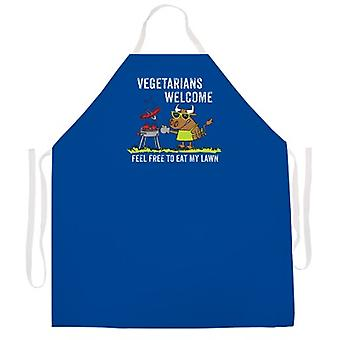 Végétariens Tablier de bienvenue