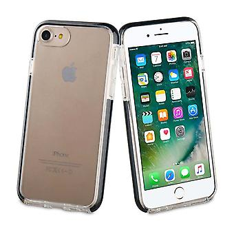 Case para iPhone Se (2020) / iPhone 8 / iPhone 7 Caso tigre reforçado Soft Shock