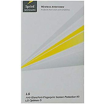 Sprint Screen Protector for LG Optimus G (3 Pack) - Clear