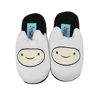 Adventure Time Finn Kids White Slippers